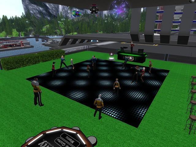 Post-P&A dance party 210925