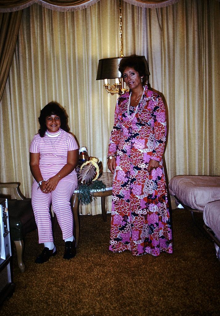 Found Photo - 1970s Mom & Daughter