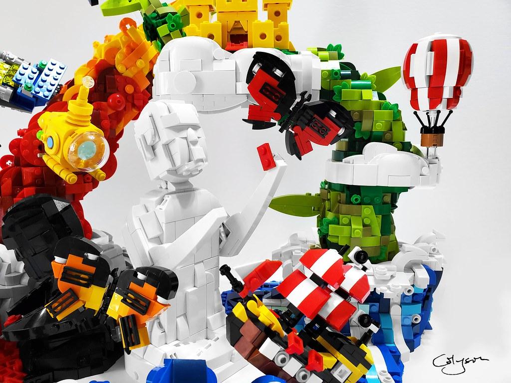 LEGO House Masterpiece Gallery 01 – Imagine! (2021)