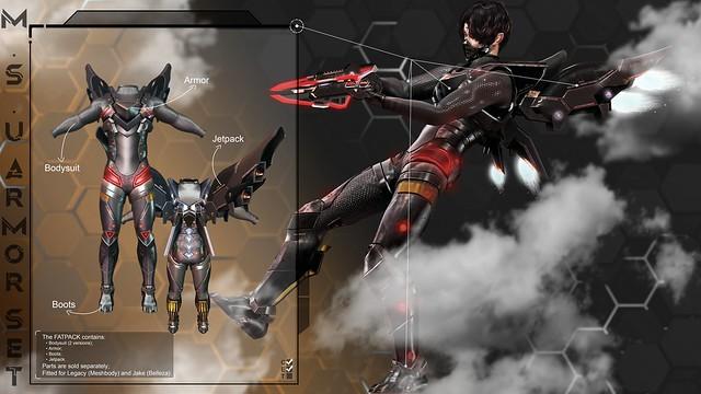 M.S.U Armor Set