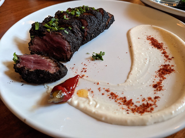 coffee-dusted steak @ La Rambla