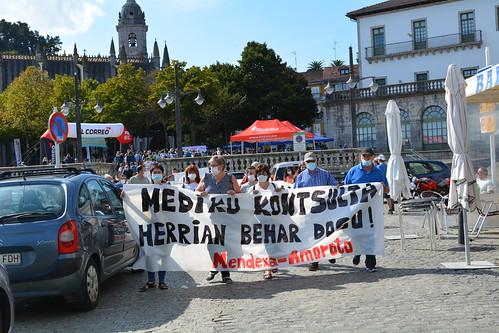 Mediku kontsulta herrian manifestazioa