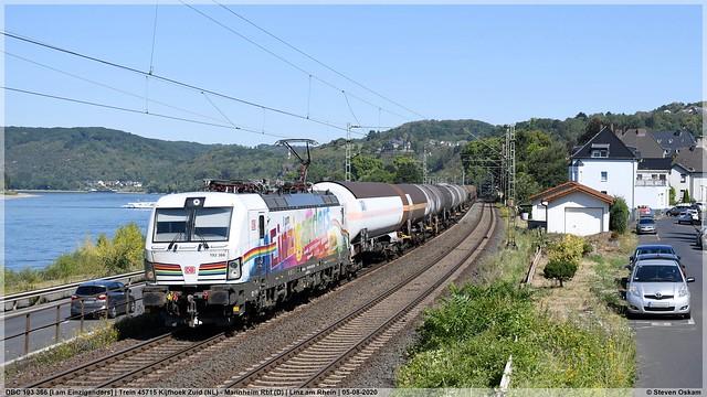 DBC 193 366 | Linz am Rhein | 05-08-2020
