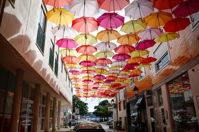 Umbrella Sky Project  -  Águeda  -  N2611