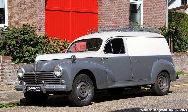 Peugeot 203 Fourgonnette 1958