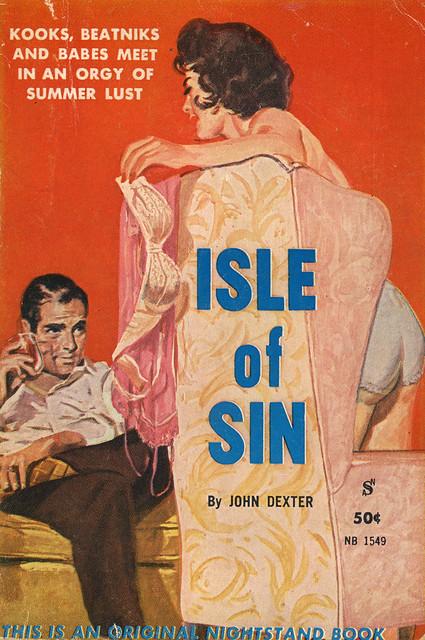 Nightstand Books 1549 - John Dexter - Isle of Sin