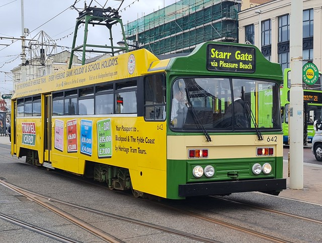 Blackpool Tram 642