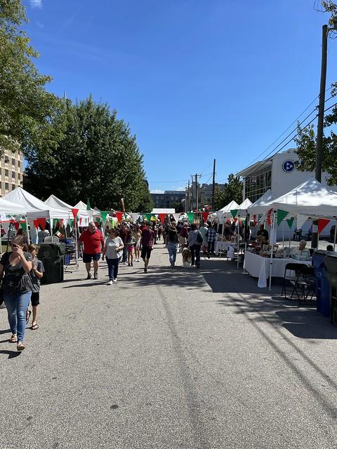 Raleigh NC Italian Festival.