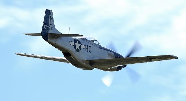 )North American P-51D Mustang 472216 G-BIXL Miss Helen USAAF 44-722164