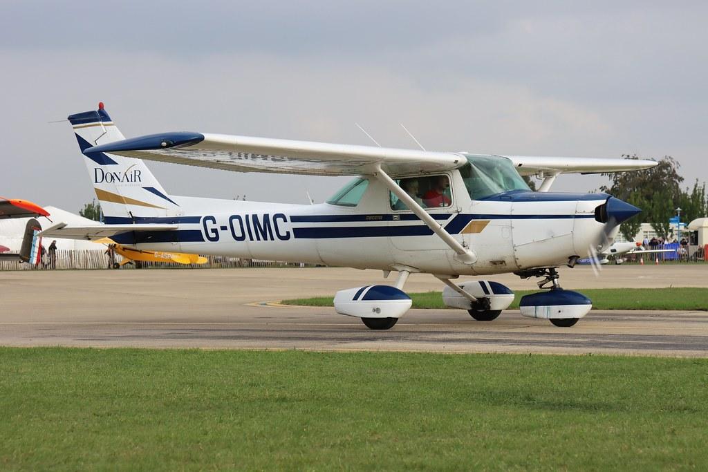 G-OIMC Donair Cessna 152 at the LAA Rally Northampton Sywell Aerodrome Northamptonshire (ORM/EGBK)