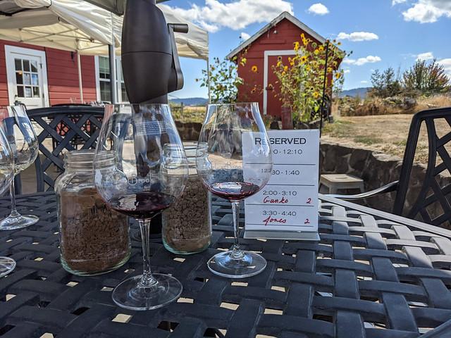 wine tasting @ Arborbrook