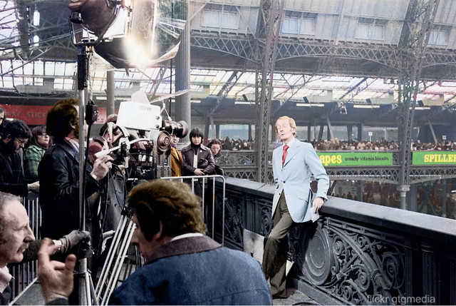 Crufts dog show 1976, in colour.