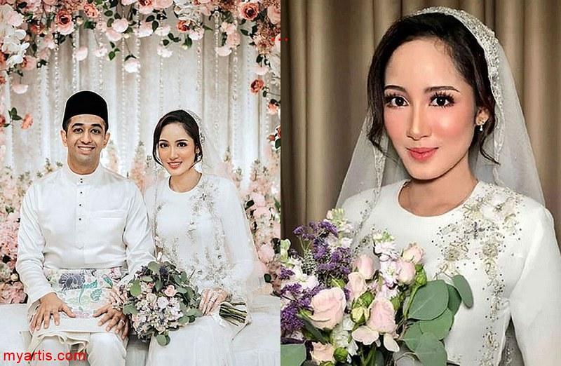 Pelakon Nynaa Harizal Selamat Bernikah