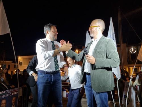 Salvini a Cesenatico per Buda - Foto Sandraeurbano (24)