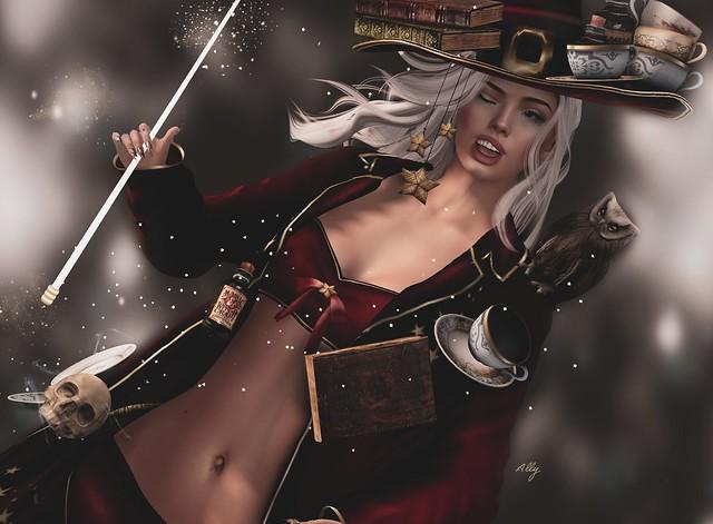 I promise I'll do my best, Abracadabra .. winks