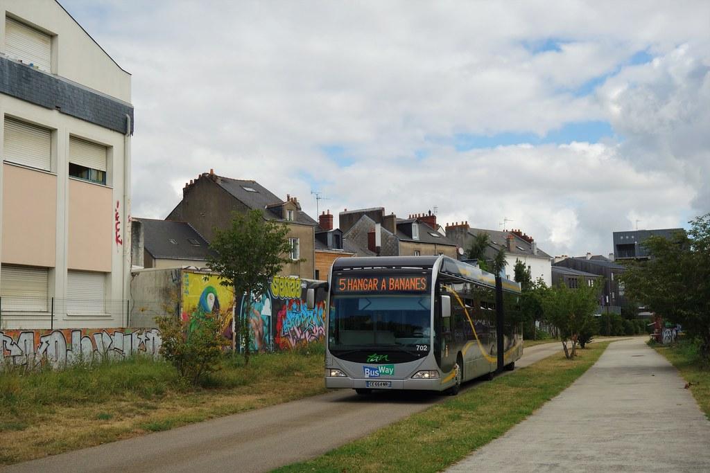 Mercedes Benz Citaro G n°702  -  Nantes, TAN