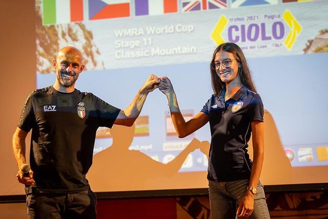 Trofeo Ciolo 2021 - Nadia Battocletti + presentazione elite (credit Marco Gulberti)