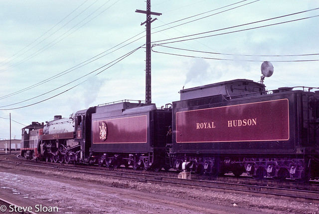 SP 2281 with Royal Hudson