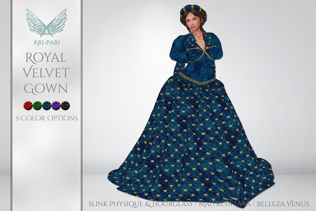 [Ari-Pari] Royal Velvet Gown