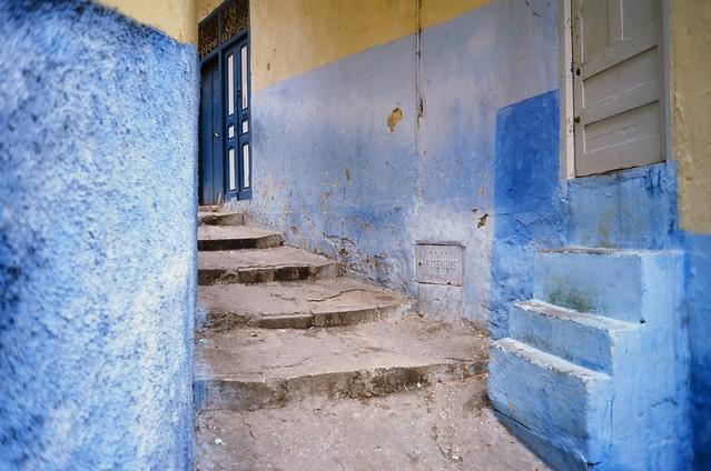 Around the corner in Tangier