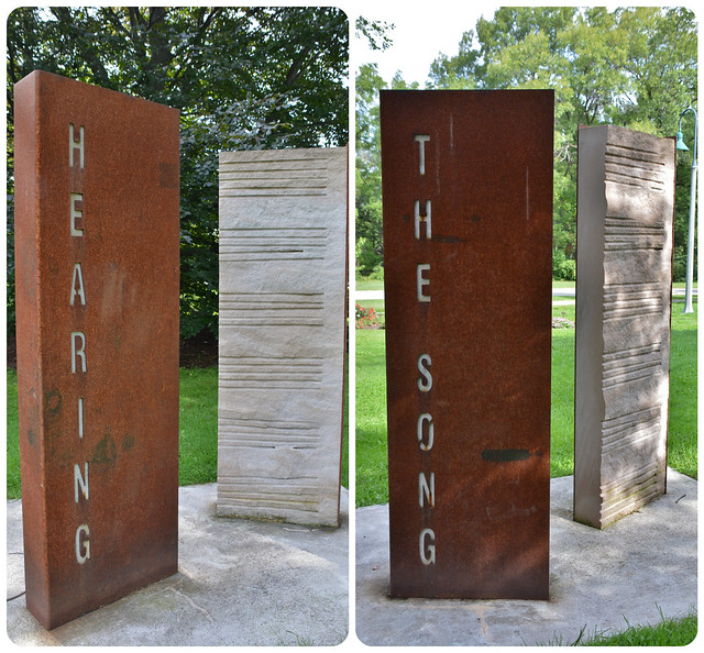 Hearing the Song by Marianne Reim, Hendrie Park, Royal Botanical Garden, Hamilton, ON