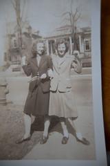 Jaunty women in old Kentucky