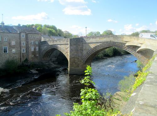 River Tees Bridge at Barnard Castle