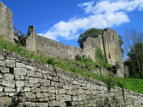 Part of Castle Wall, Barnard Castle,