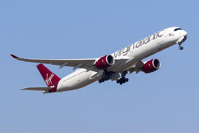 Virgin Atlantic A350-1000 G-VDOT at Heathrow Airport LHR/EGLL