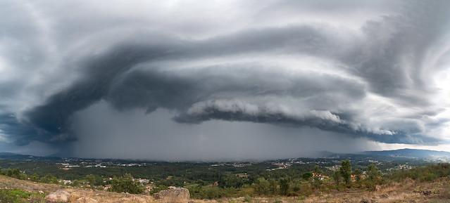 Monster Shelf Cloud