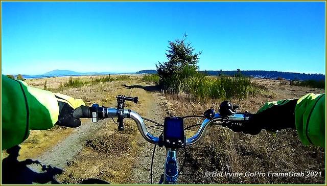 Biking Cordova Spit Park