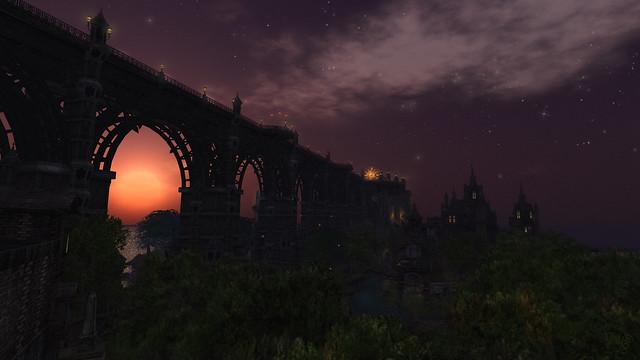 Goodnight Sunset, welcome back Night stars