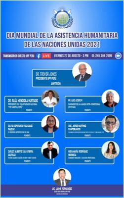 Peru-2021-08-27-UPF Peru celebrates UN 2021 World Humanitarian Day
