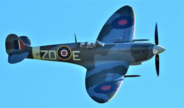 RAF Supermarine Spitfire MkIXB G-AVDJ  MH415 ZD-E
