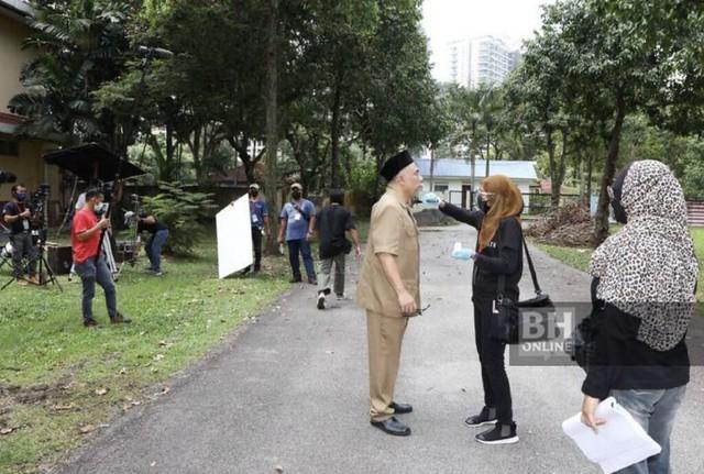 Tan Sri Annuar Musa Turun Padang Tinjau Lokasi Pengambaran Untuk Pantau Sop