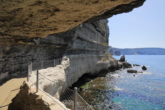 Corsica / Corse - Escalier du roi d'Aragon