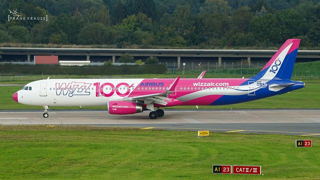 HA-LTD WIZZ AIR AIRBUS A321-231(WL) CN 8305