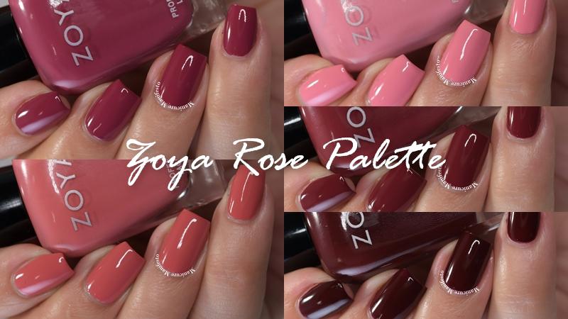 Zoya Rose Palette Collection