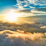26. September 2021 - 6:28 - Fluffy Cloudy Sunrise