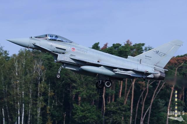 MM7343/36-50 F-2000A Typhoon | EBBL | 13.09.2021