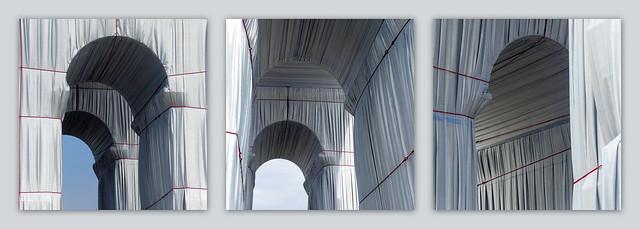 Arches drapées
