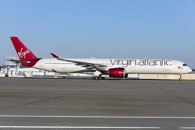G-VLUX - Airbus A350-1041 - Virgin Atlantic - KATL - 25 Sept 2021