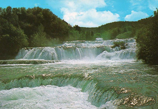 Croatia - Krka National Parka (Situated along the Krka River. It's known for a series of 7 waterfalls),,