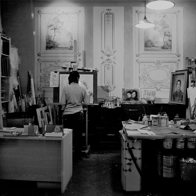 Rome #11 - The Painter