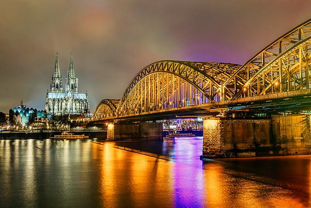 Deutzer Brücke - Köln