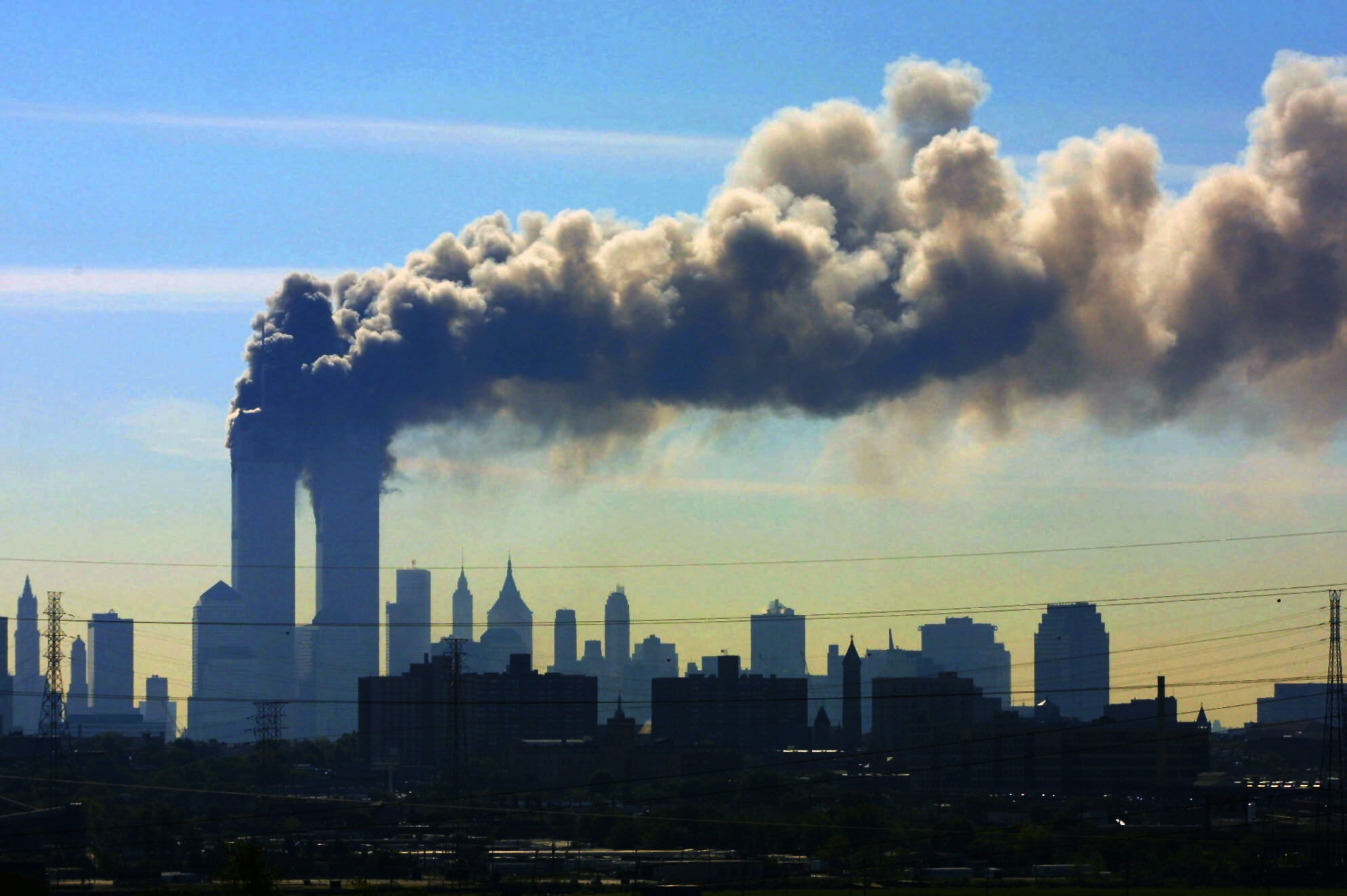 Torres Gemelas el 11 de septiembre de 2001