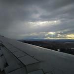 Approaching Tbilisi International Airport
