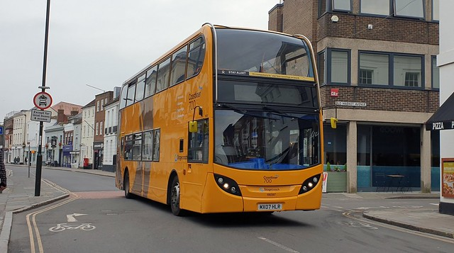 Stagecoach South 19097 (MX07 HLR) Chichester 26/9/21