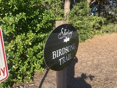 Birdsong Trail Sign