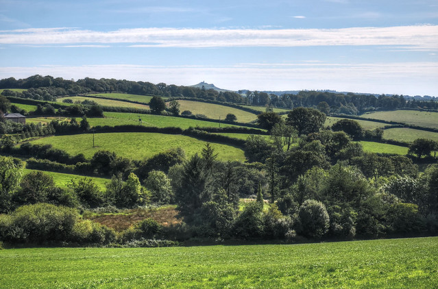 The countryside of West Devon